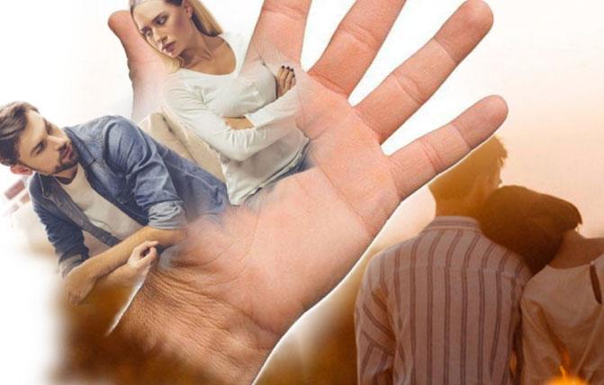 линия брака как она выглядит и что означает на руке фотографируем с подробной расшифровкой