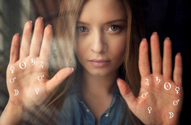 как расшифровать линию судьбы, как её найти, пример по ручному фото